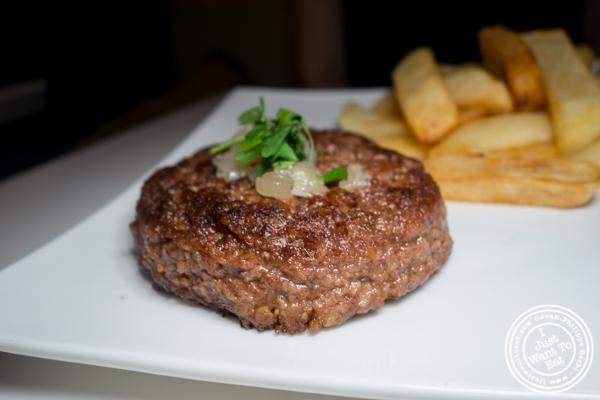 Steak frites at Delice & Sarrasin in the West Village
