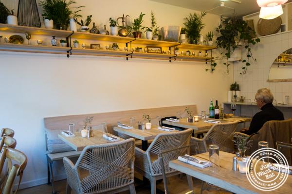 Dining room at Seven Valleys in Hoboken, NJ
