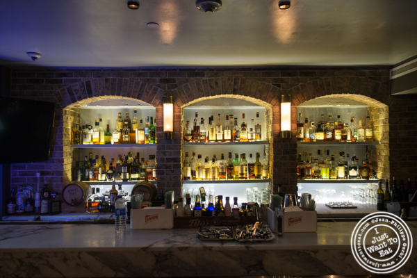 Whiskey selection at Root Cellar Whiskey Bar in the W Hotel in Washington DC