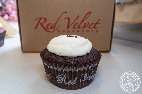 Cookies'n cream cupcake at Red Velvet Cupcakery in Washington DC