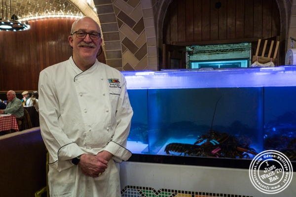 Executive Chef Sandy Ingber from Grand Central Oyster Bar & Restaurant