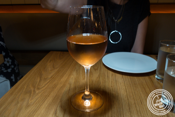 "Frisach ""L'Abrunet"" Rosa 2017 rosé wine at Boqueria in Times Square"