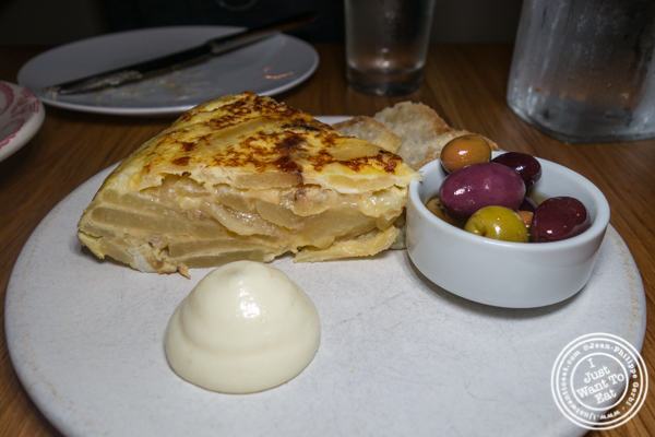Tortilla española at Boqueria in Times Square