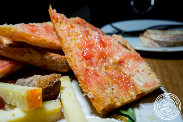 Pan con tomate at Boqueria in Times Square