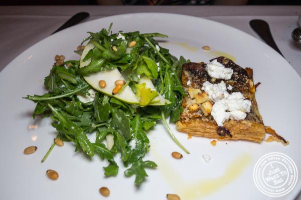 Salad at Scalini Fedeli in TriBeCa