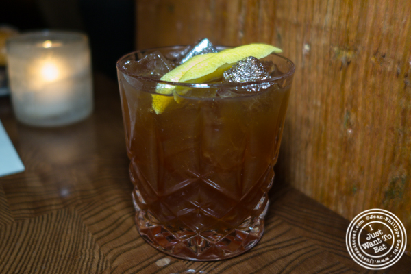 Cocktail at Batard in TriBeCa
