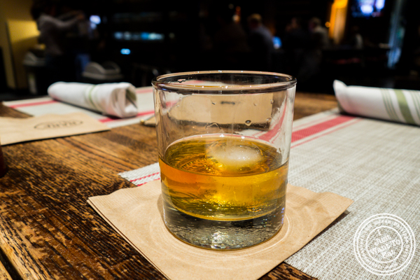 Orban 14 y/o whiskey at Rare Bar and Grill in Chelsea