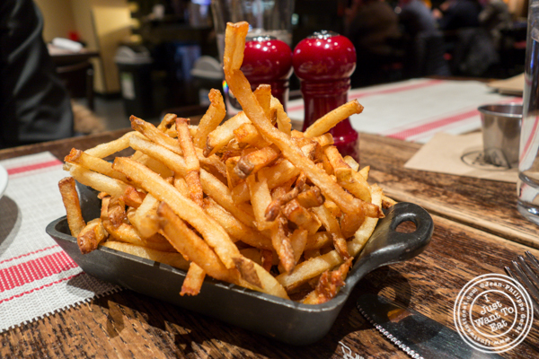 French fries at Rare Bar and Grill in Chelsea