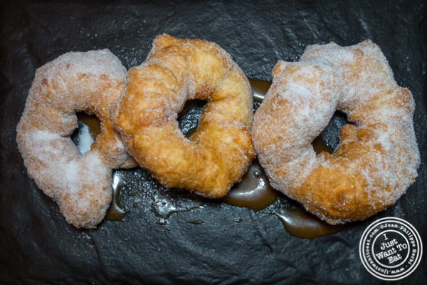Moroccan donuts at Green Fig in the Yotl Hotel