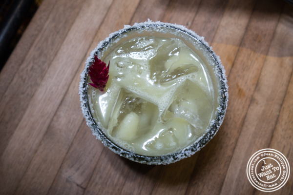 Avocado margarita at Puesto at The Headquarters