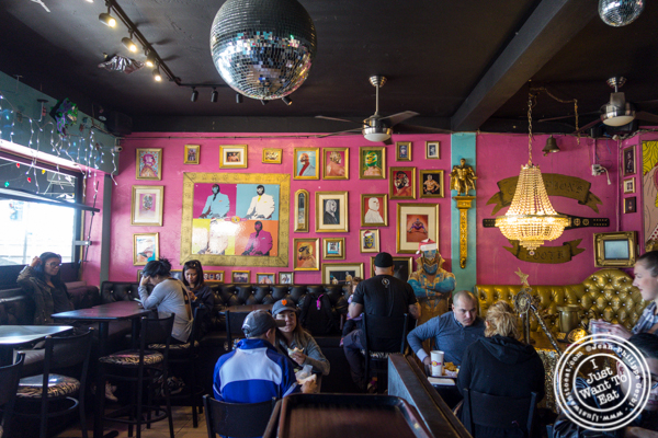 Dining room at Lucha Libre in San Diego