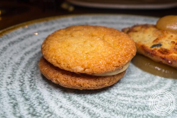 Foie gras cookie at Juniper & Ivy in San Diego