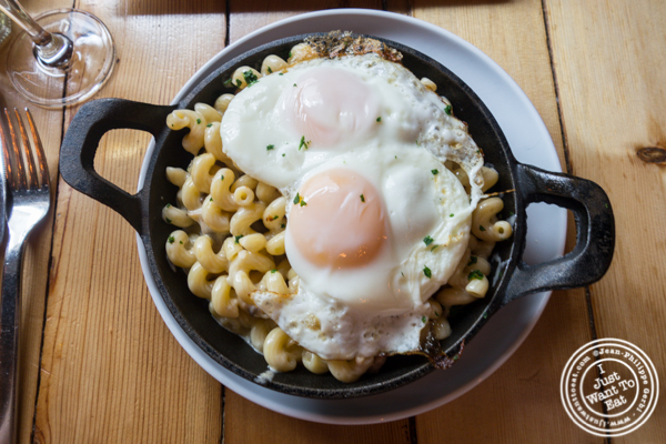 Breakfast Mac and cheese at Grand Vin Kitchen and Bar in Hoboken