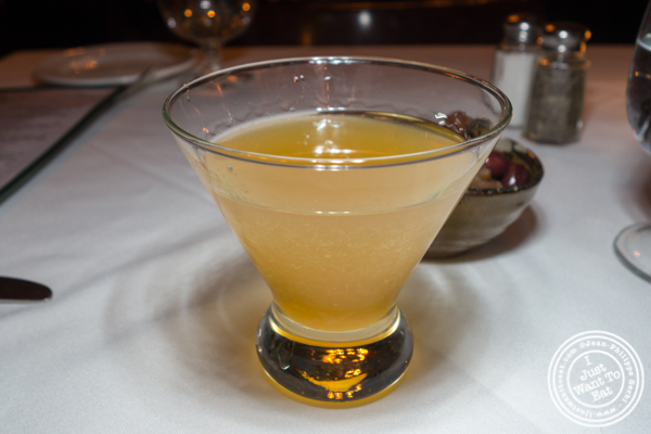Sidecar cocktail at Saju Bistro in Times Square