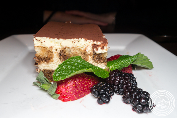 Tiramisu at Sociale in Brooklyn