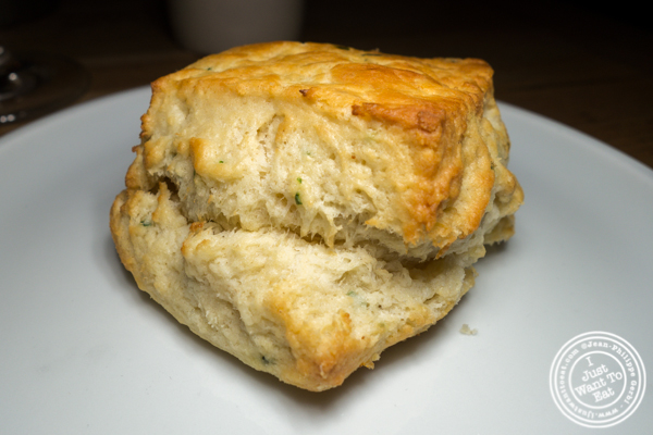 Buttermilk biscuit at Empire Diner in Chelsea