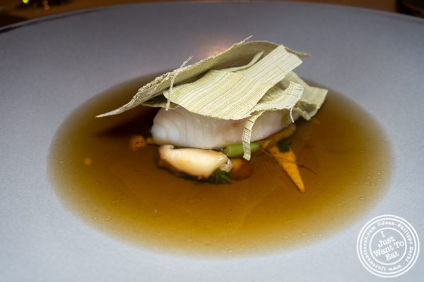 Black cod at Jungsik in TriBeCa