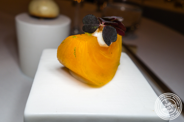 Persimmon at Jungsik in TriBeCa