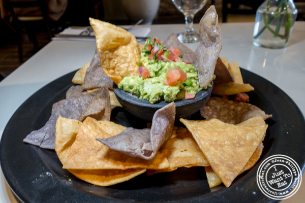 Guacamole at Blend in Long Island City