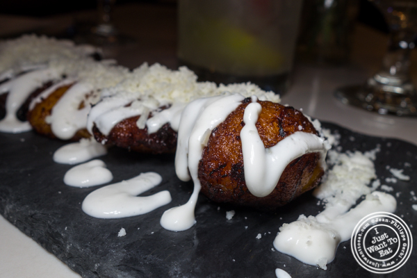 Maduros con queso at Blend in Long Island City
