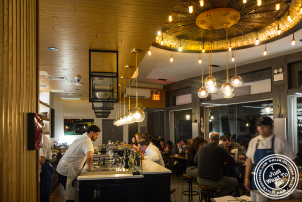 Dining room at Jeju Noodle Bar in Greenwich Village
