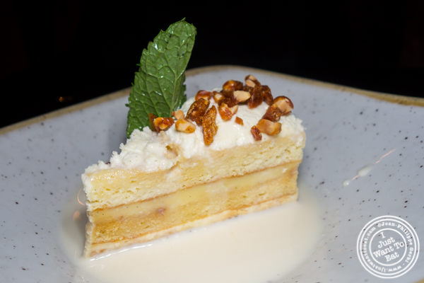 Tres leches at Dos Caminos Times Square