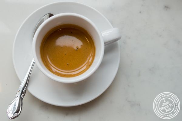 Espresso at Indie LIC in Queens, NY