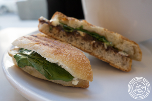 Camembert sandwich at Indie LIC in Queens, NY