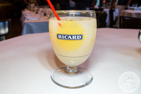 Ricard at Felix in NYC, NY