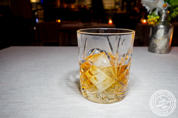 Armorik whiskey at L'Appart in NYC, NY