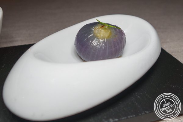 Pearl onion at L'Appart in NYC, NY