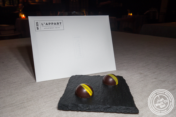 Chocolate Negroni at L'Appart in NYC