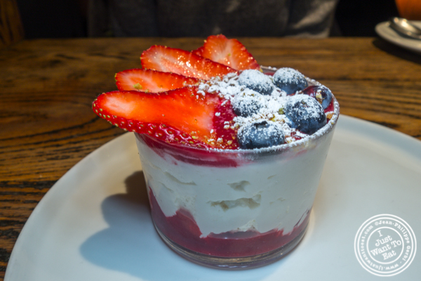 Creme montee at Cocotte in Soho