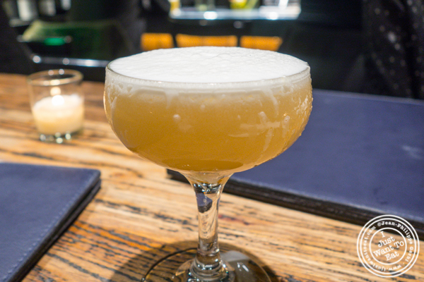 Whisky sour at Cocotte in Soho