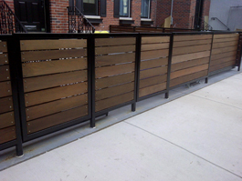 Steel Skeleton / Softwood Railing