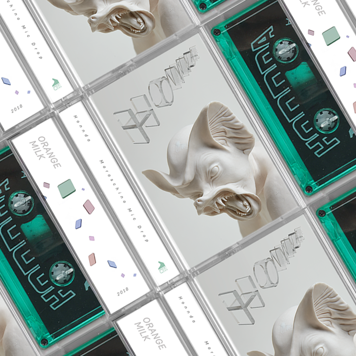 Packaging Design (Cassette Tape), Design, 3d type, graphics, wordmark