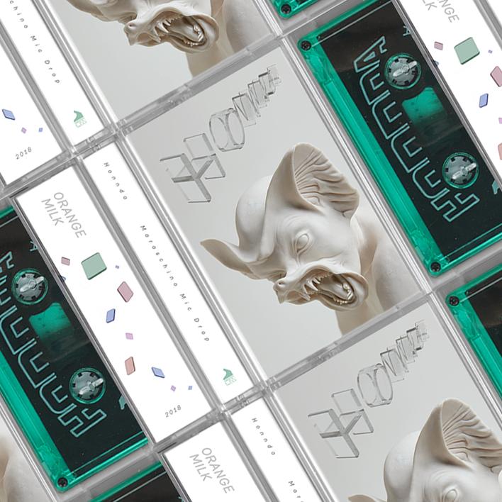Packaging Design (Cassette Tape), Design, 3d type, graphics, wordmark