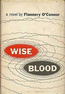 "Published in 1952, this is an oldie but goodie. About a wounded veteran turned atheist ""preacher,""  Wiseblood  showcases all the good marks of a Southern Gothic including maniacal characters and startlingly violent scenes. Characters wrestle with guilt and belief. Also, don't read this if you have a fear of losing your eyeballs. Trust me."