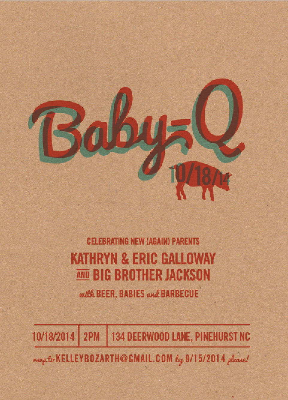 baby q invitations kelley deal photography