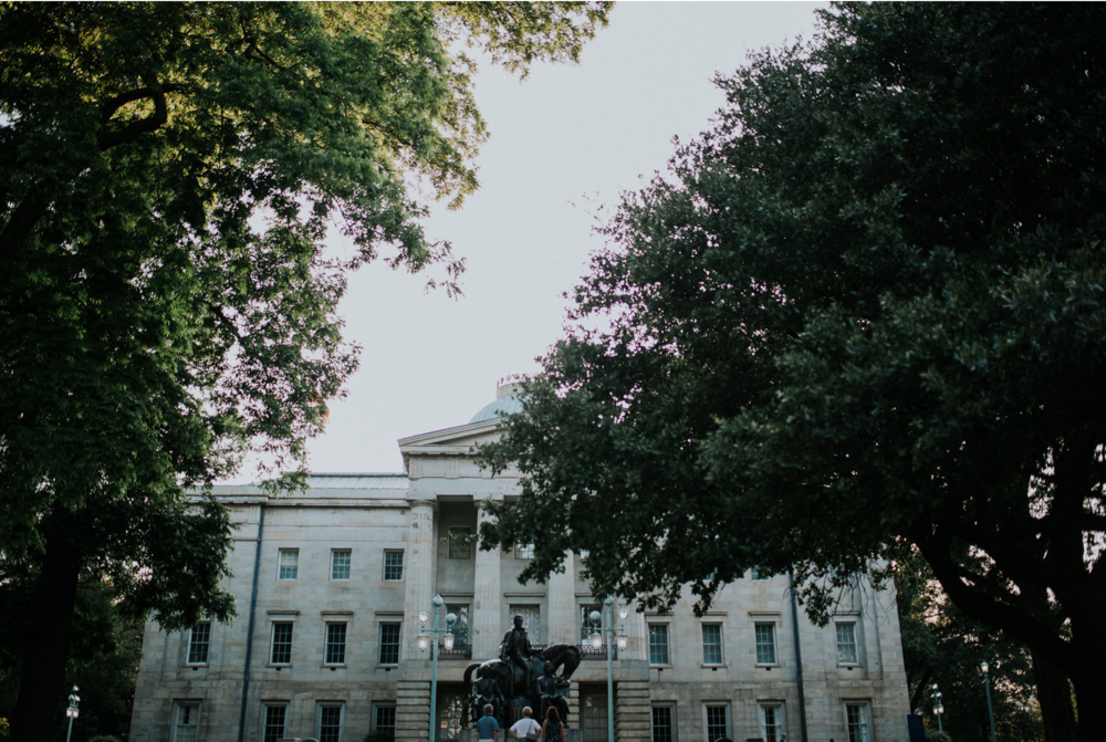 Kelley Deal Photography | Patrick's Proposal at the NC Capital building in Raleigh | southern bride, raleigh bride, southern wedding, she said yes, proposal