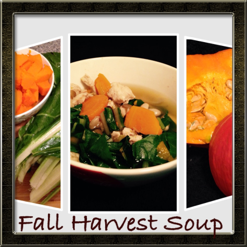 Fall Harvest Soup Collage