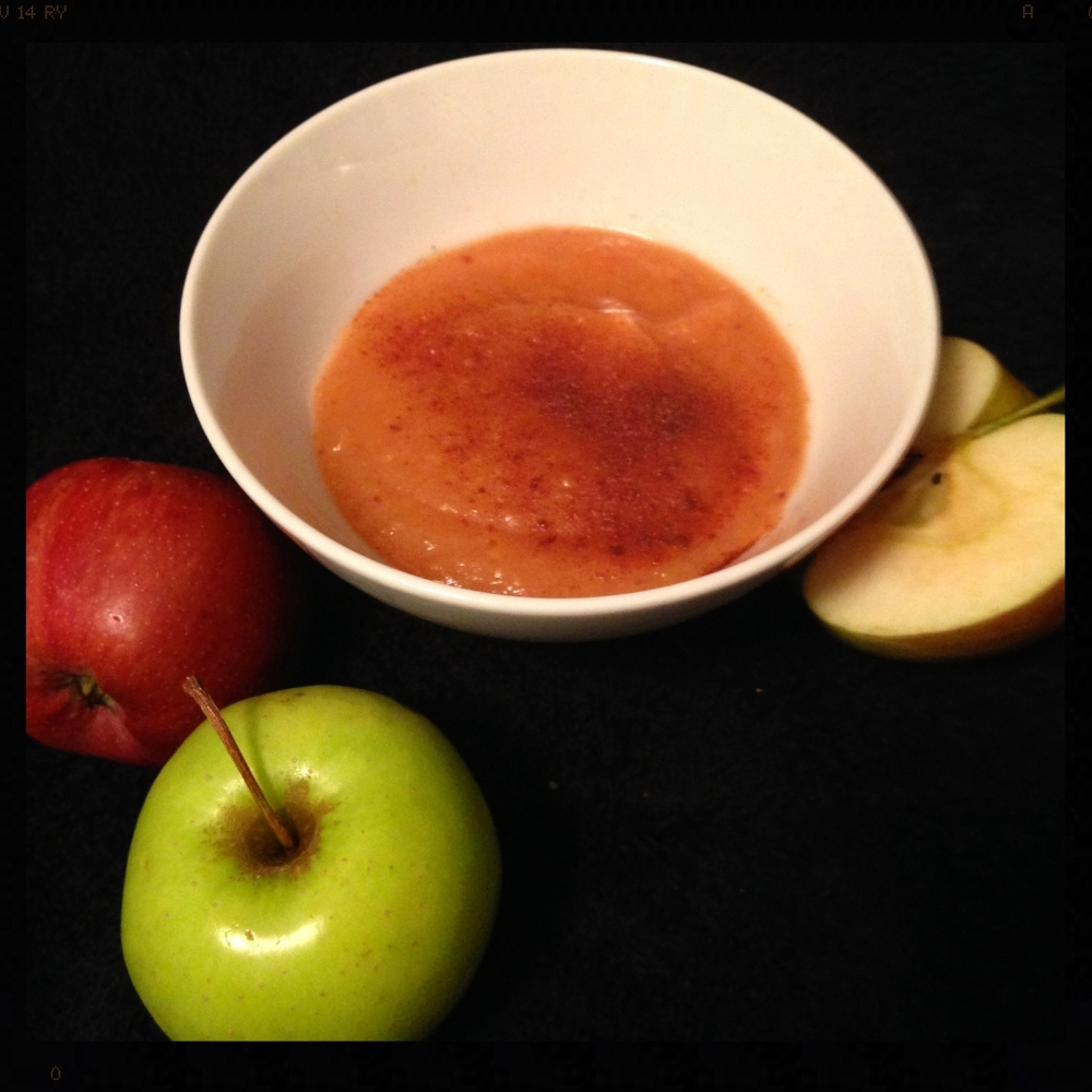Homemade Applesauce!