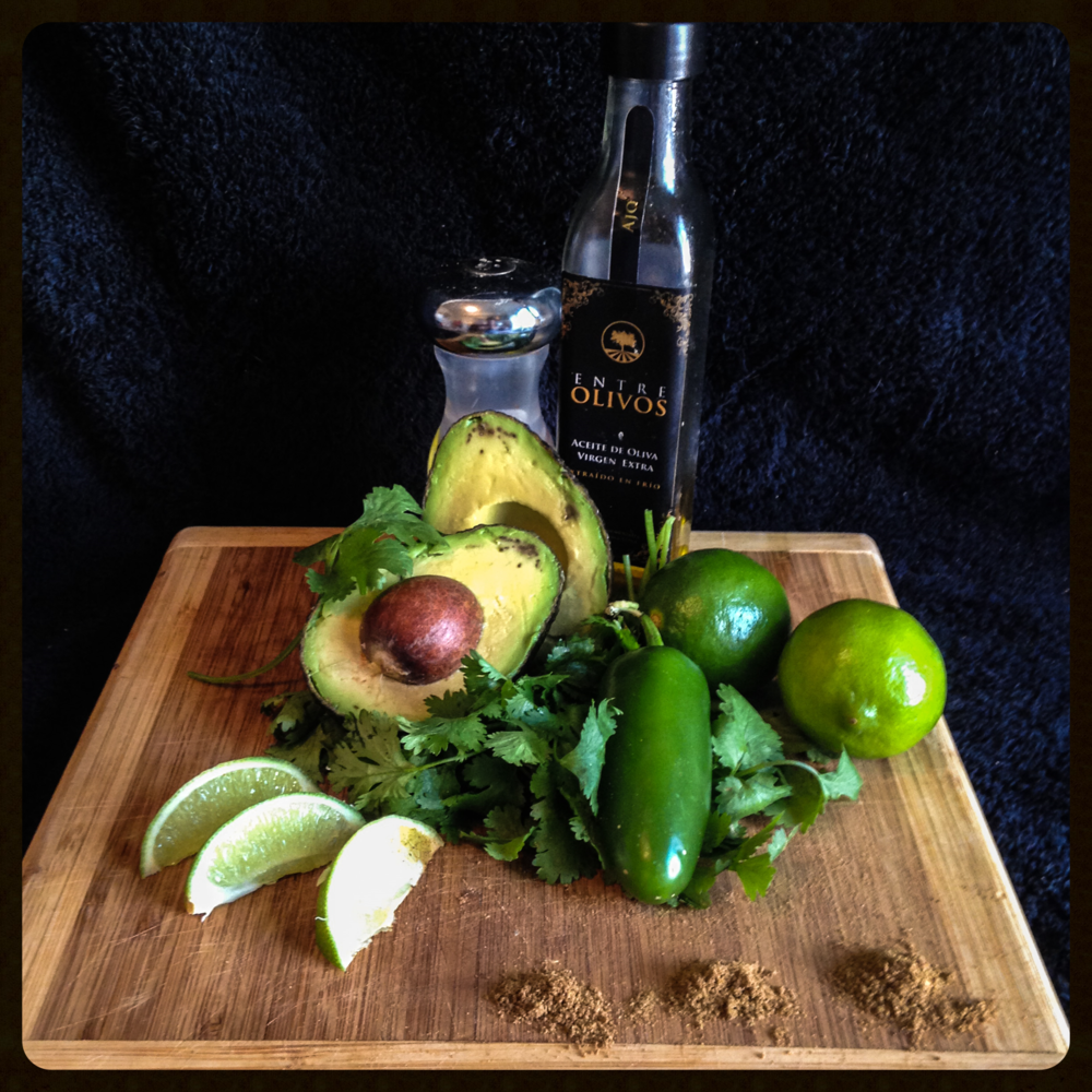 Spicy Avocado Lime Dressing Ingredients