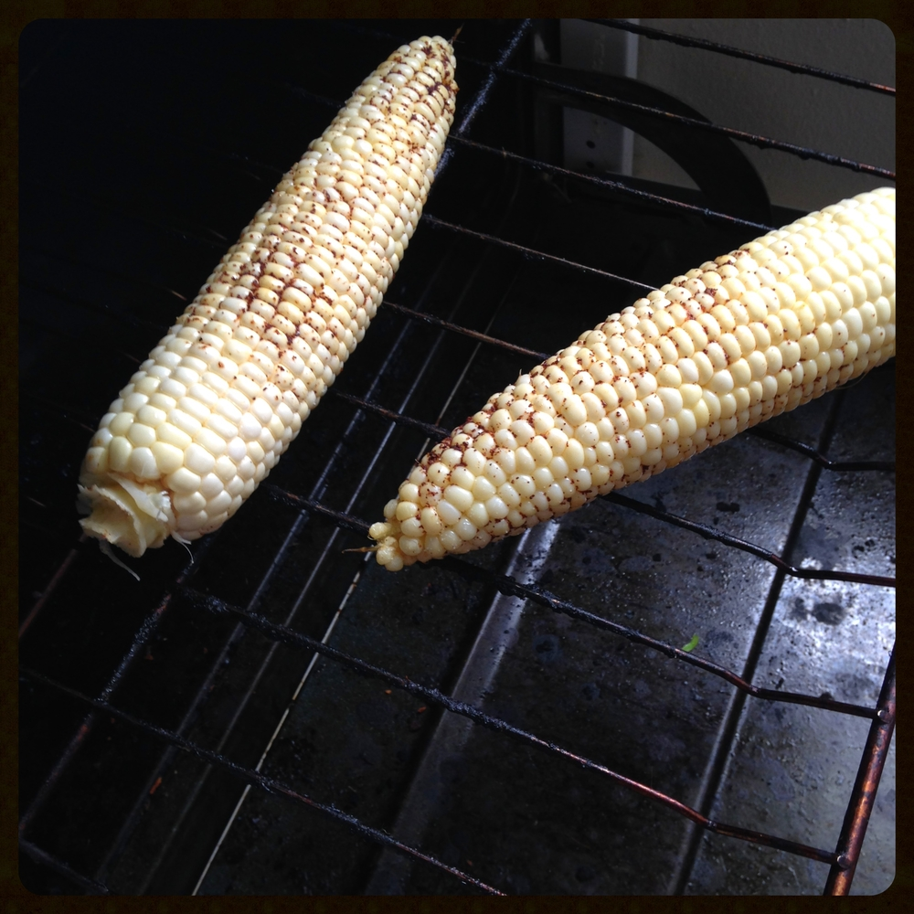 Corn without the husk