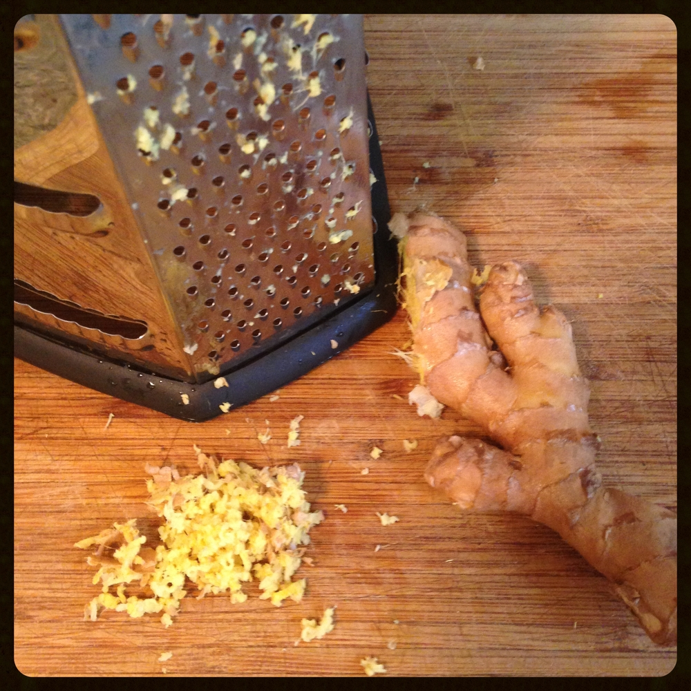 Grated Ginger