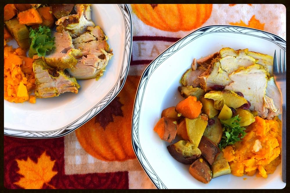 Slow Cooked Autumn Pork Roast