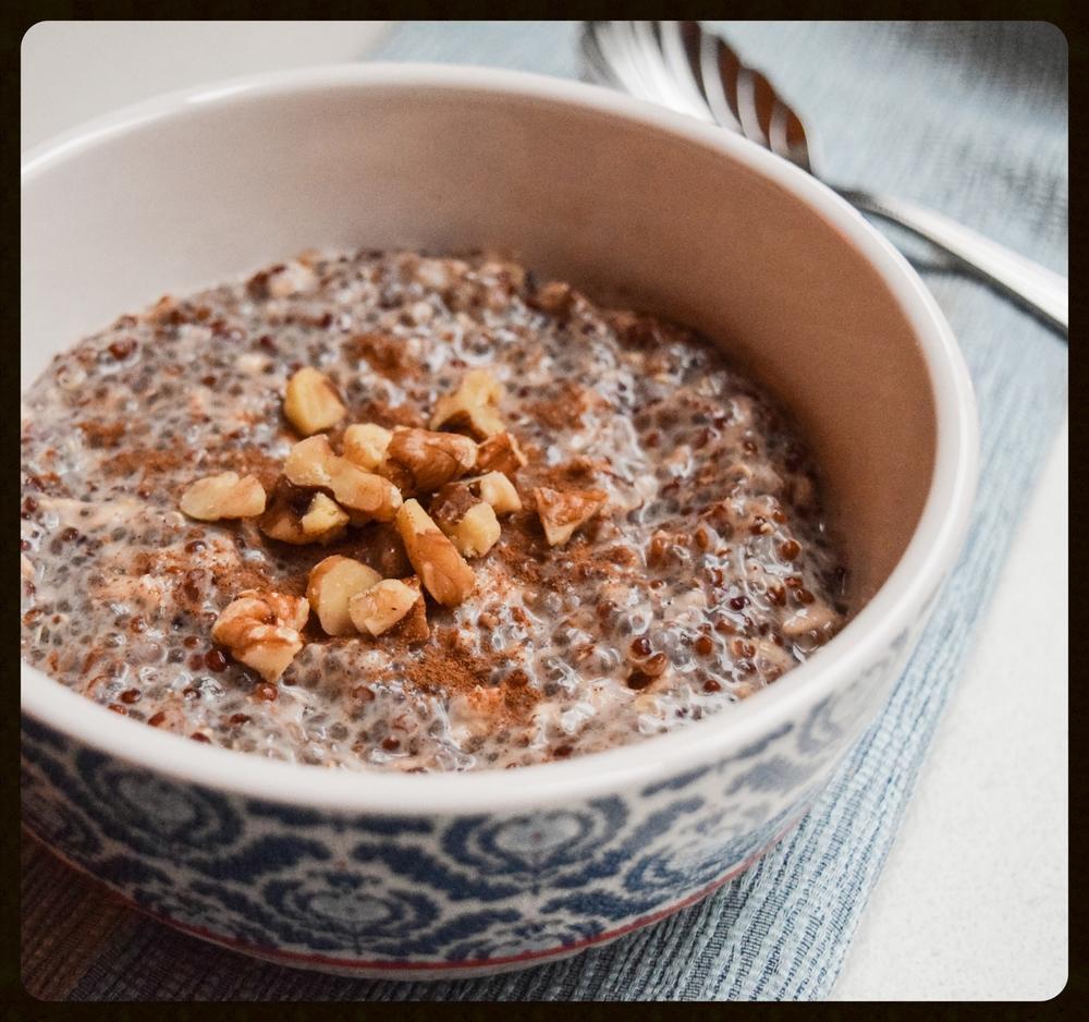 Chai Quinoa Porridge
