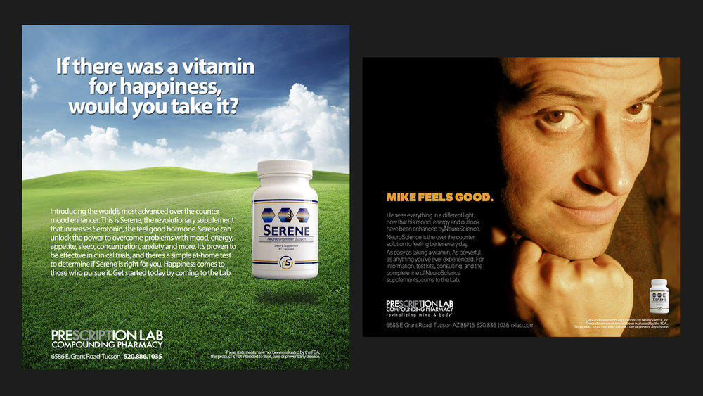 NeuroScience Print Advertising