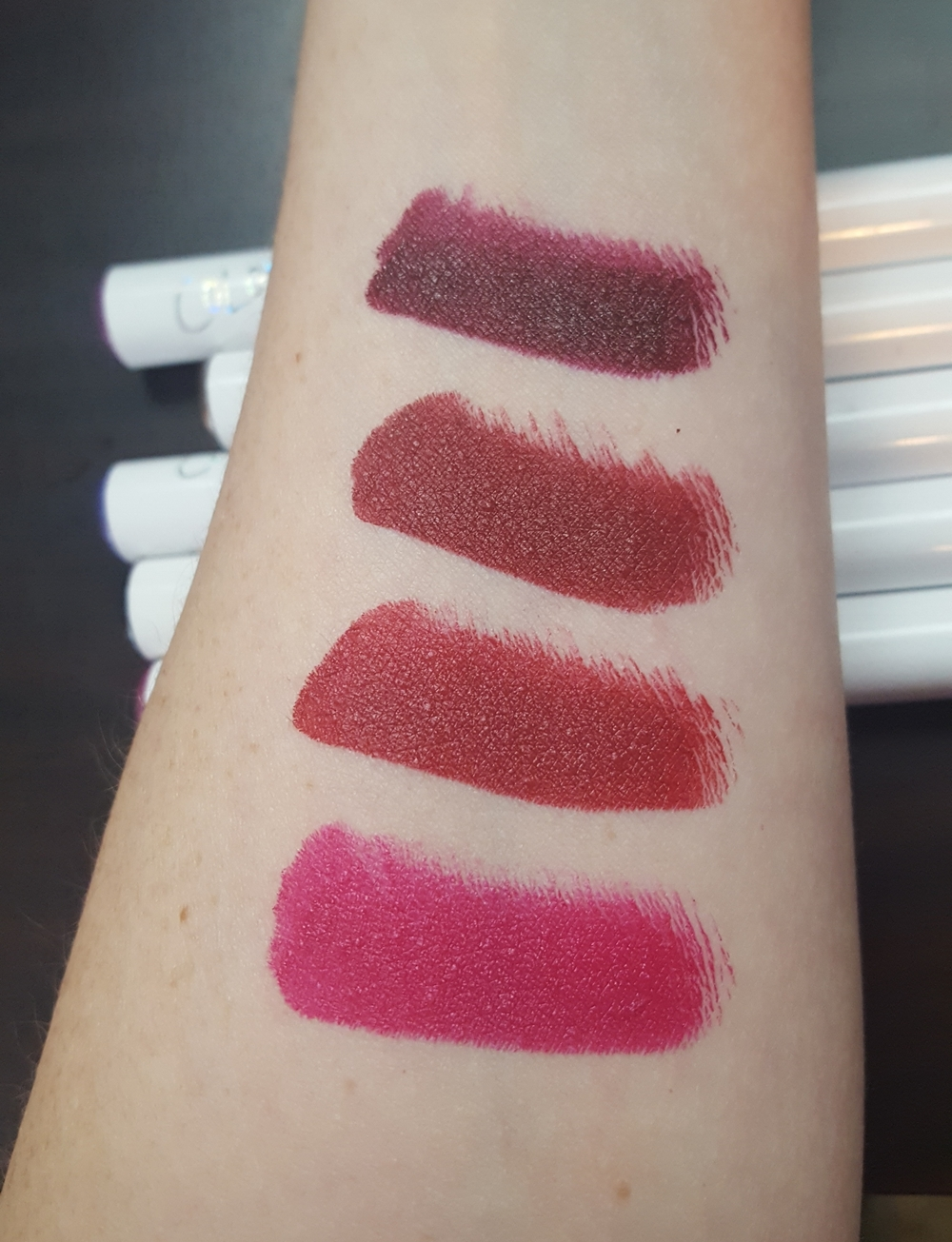 From top to bottom: Creature, Poison, TGIF, Out of Sync