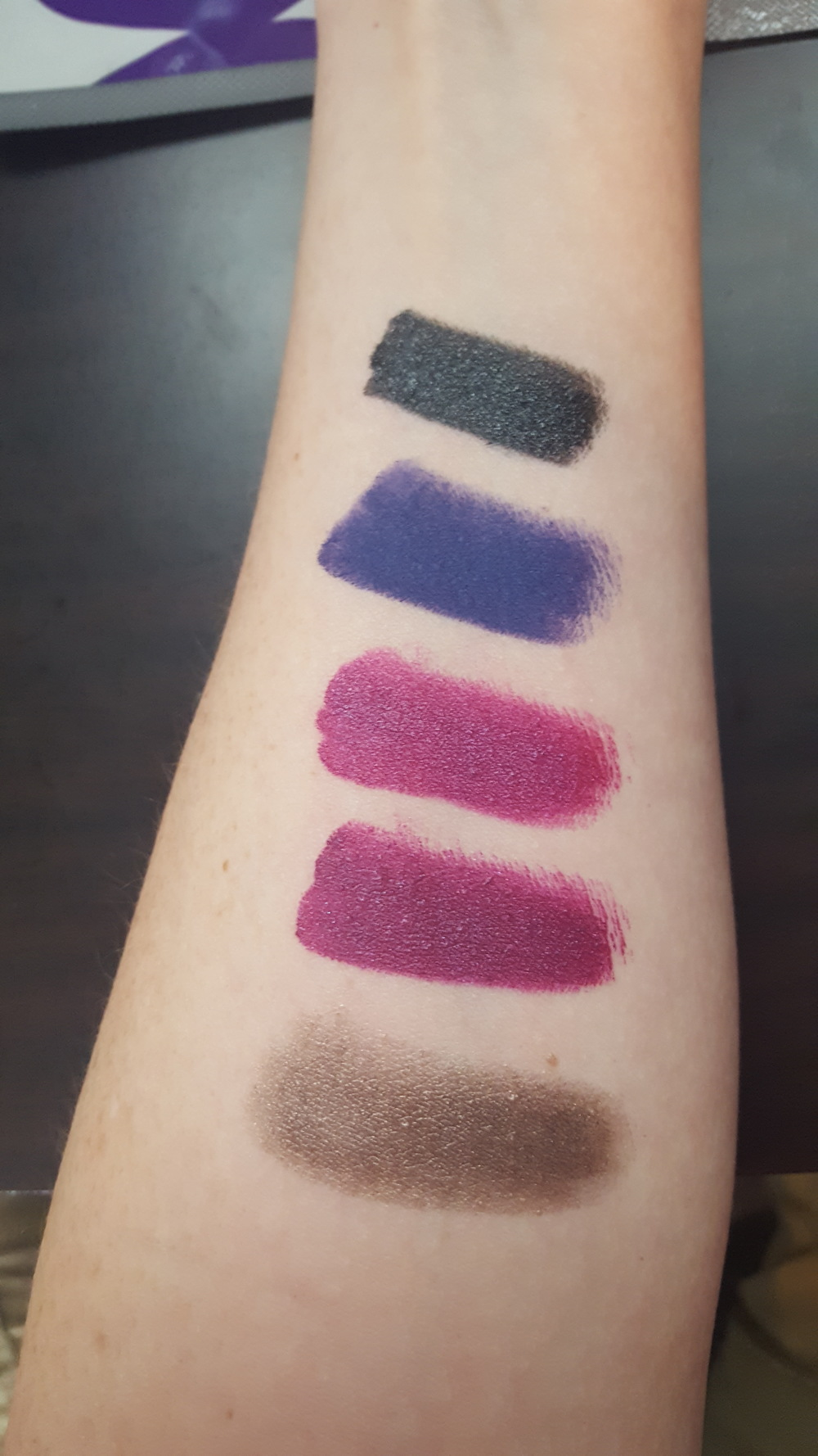 Top to Bottom: Bull Chic, Climax, Too Sexy, Boogie, Wet (wow - so much sexy talky...)